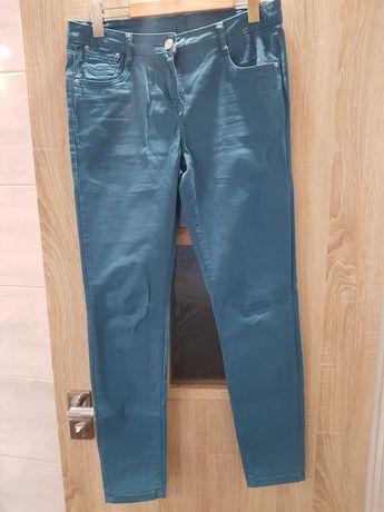Spodnie damskie zielone rozm.40