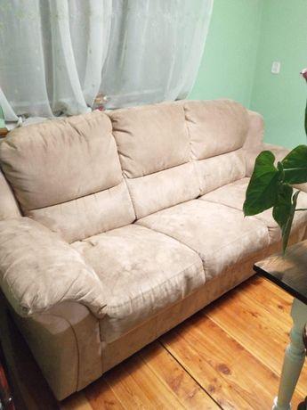 Komplet wypoczynkowy sofa + fotele