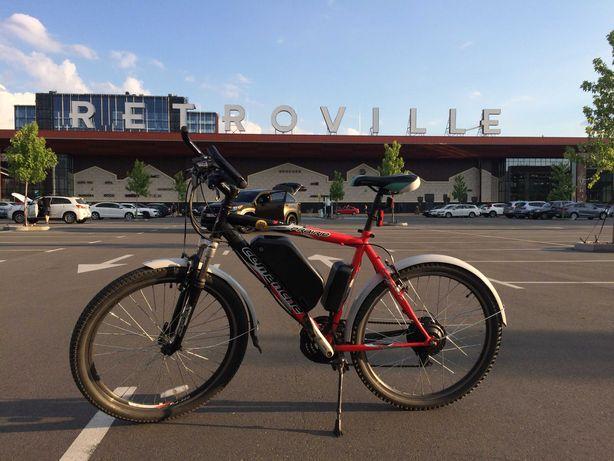 Электровелосипед Comanche Prairie Электровелосипед бу продам Велосипед