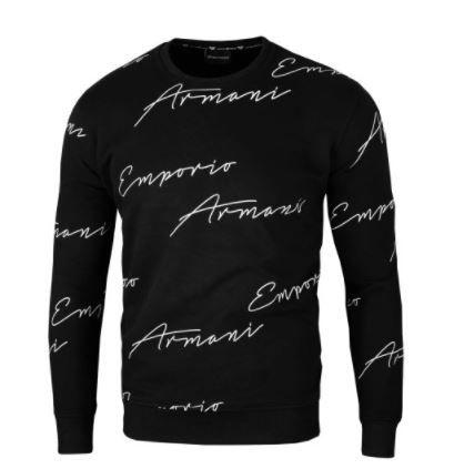 Emporio Armani Bluza Czarna Autograf / S
