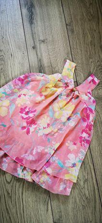 Szyfonowa sukienka C&A rozm. 116