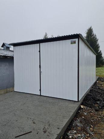 Garaż blaszany 3x5 garaże blaszane Promocja kolor w cenie ocynka
