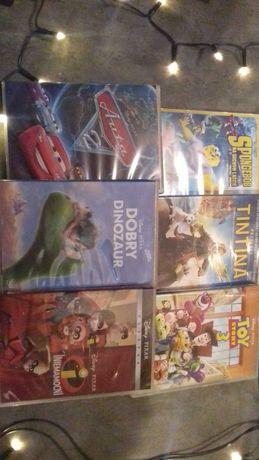 Filmy dvd dla dzieci lub młodzieży