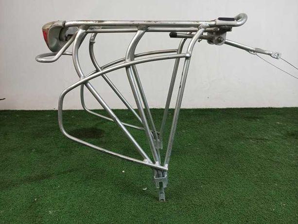 Багажник  для велосипеда  серый