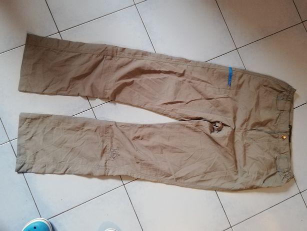 Spodnie górskie trekingowe techniczne Donnay rozmiar S 2w1