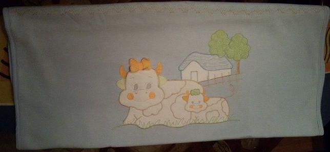Продам детское одеяло х/б двойное