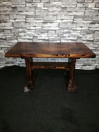Stolik drewniany.