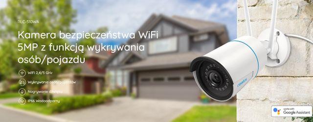 Kamera monitoringu Reolink RLC-510WA WiFi NOWOŚĆ !