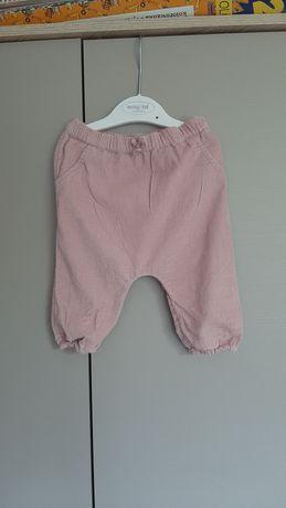 Sztruksowe spodnie NEXT roz.68