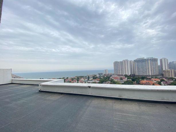 Вишенка на торте - квартира с видом на море и террасой 45 кв. м. 1A15