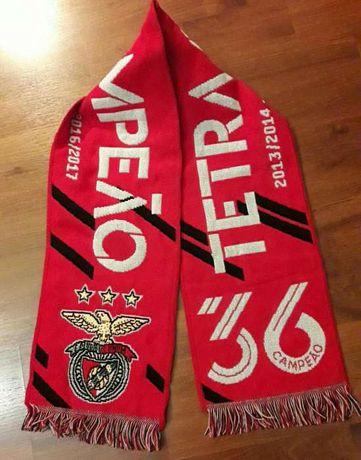 Cachecol Benfica Tetra Campeão oficial