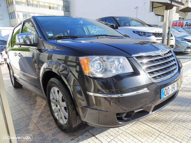 Chrysler Grand Voyager 2.8 CRD ATX LIMITED STOW AND GO 7L NACIONAL 1 ÚNICO DONO