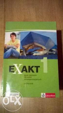 Exakt 1 podręcznik język niemiecki