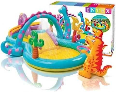 Basen Wodny Duży Plac Zabaw Zjeżdżalnia Dla Dzieci NOWY