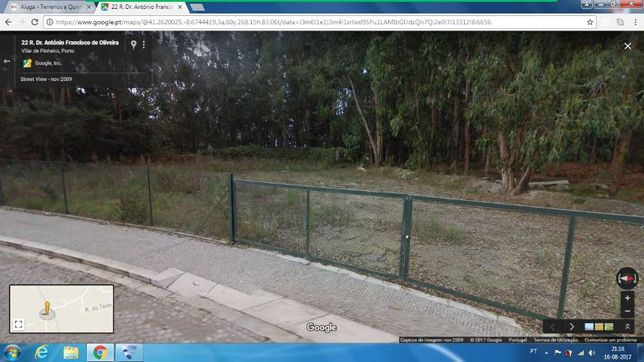 Aluga-se terreno para ESTALEIRO em Vilar do Pinheiro/Vila do Conde