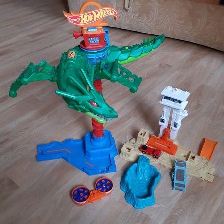 Игровой набор Hot Wheels Воздушная Атака Дракона. Хот Вилс. Dragon.