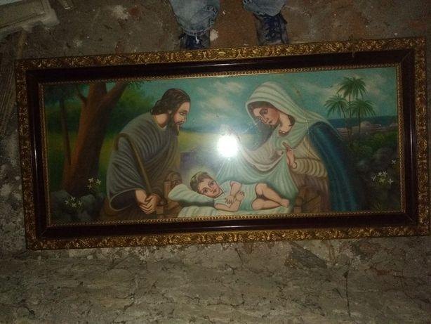 Duży obraz świętej rodziny