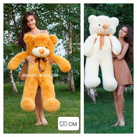 Ведмедик плюшевий, ведмідь Тедд, подарунок, большой медведь, мишка