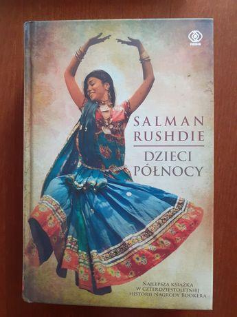 """Książka """"Dzieci północy"""" Salman Rushdie"""