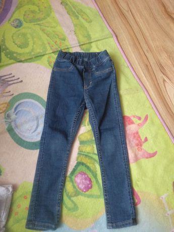 Jeansy dla dziewczynki hm 92