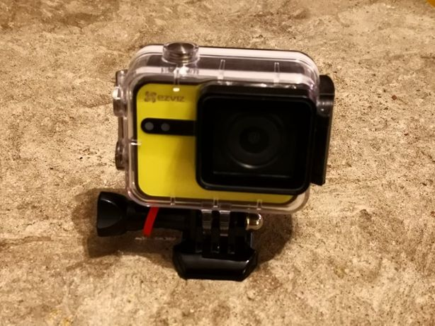 Kamera sportowa S1c, Ezviz, kolor ŻÓŁTY + karta 16GB