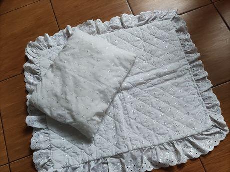 Przykrycie chrzest poduszka