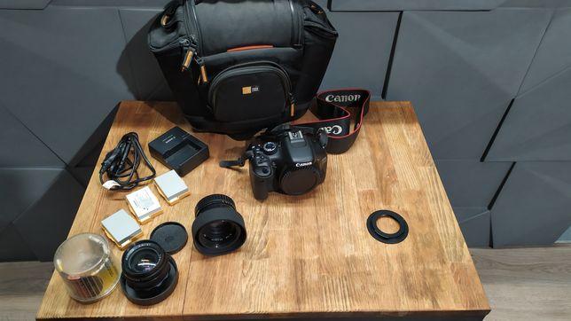 Продам фотоапарат canon 550d body