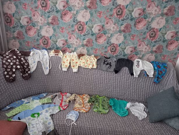 Пакет вещей на грудничка 2-3 месяца