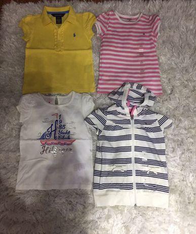 T-shirt/bluzki- Ralph Lauren/Hilfiger/Zara/H&M- 3 lata