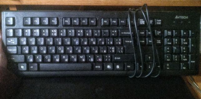 Клавиатура (нерабочая).