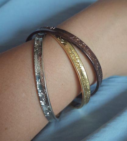 Шикарный,крупный, Тройной браслет , 1997 Tiffany & Co , s925, оригинал