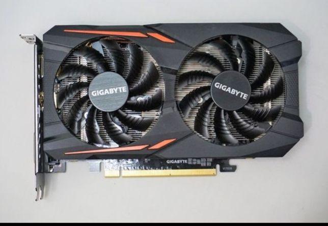Gigabyte Rx 560 OC Edition 4Gb GDDR5 como nova