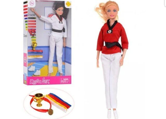 Кукла Семья DEFA,каратистка,спорт,шарнирная,29и 28см