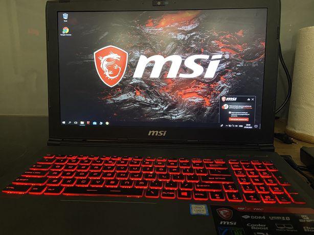 Laptop NSI gv62 7rc i5