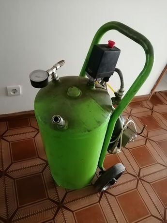 Compressor de ar silencioso