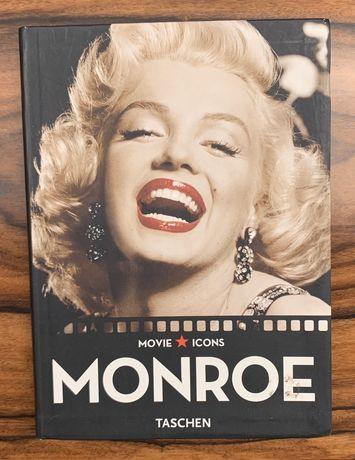 "Livro ""Movie Icons - Monroe"""