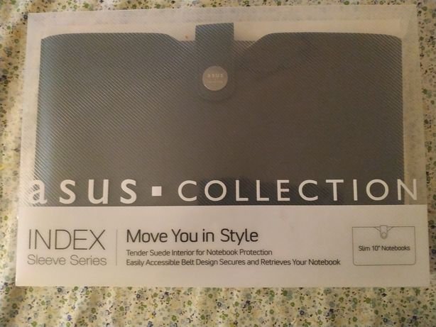 """ASUS INDEX Collection black Sleeve Envelope for 10"""" Notebook"""