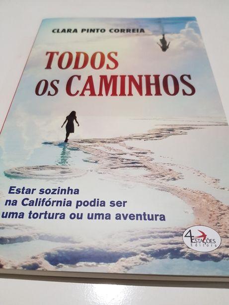 Todos os Caminhos deClara Pinto Correia - NOVO