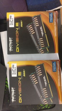 Продам опер. память Patriot Division 2 DDR3 2133 8GB (два комплекта)