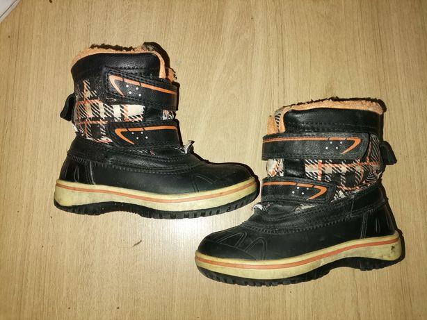 Ocieplane buty uniseks 25