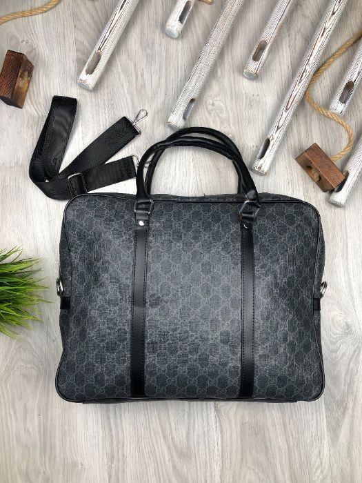 Сумка для ноутбука кейс офисная сумка для лэптопа Гуччи Gucci c415 Одесса - изображение 1