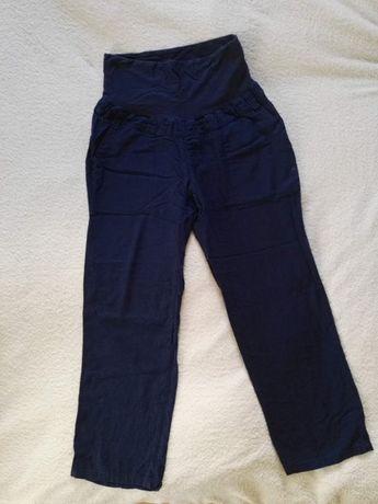 Spodnie ciążowe roz.44 spodnie z materiału dżinsowe h&m roz.S