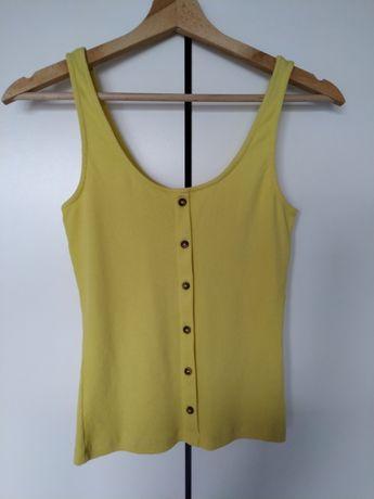 "Żółta bluzka ""C&A"""