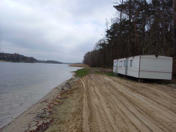 domek holenderski 10x3,1m zadbany ŚLESIN-6 metrów od jeziora na plaży