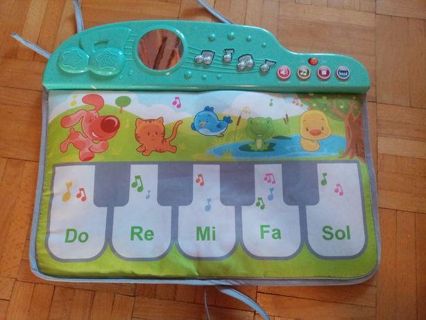 Mata grająca dla niemowlaka, organki