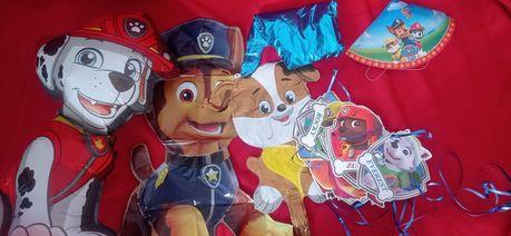 Атрибутика щенячий патруль, декор щенячий патруль, фотозона, цифра 3
