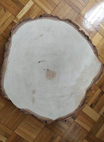 Podkład drewniany pod tort weselny