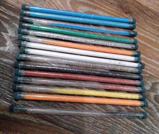 Набор цветной песок 16 шт