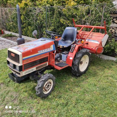 Traktorek Ciągnik ciągniczek yanmar F13 4x4 glebogryzarka