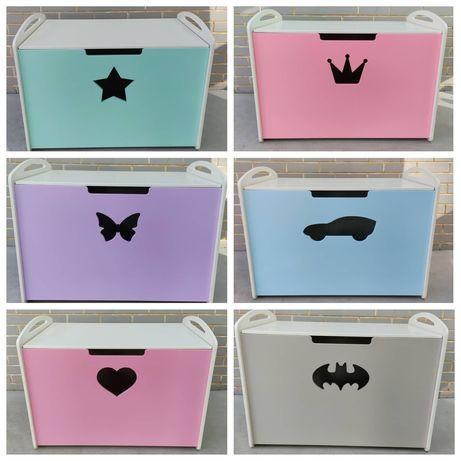 Ящик для игрушек, сундук для игрушек, корзина для игрушек